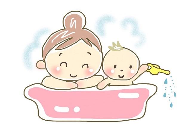 お風呂先に入る